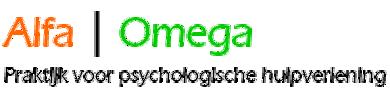 Psycholoog | Veenendaal en omstreken | Praktijk Alfa Omega